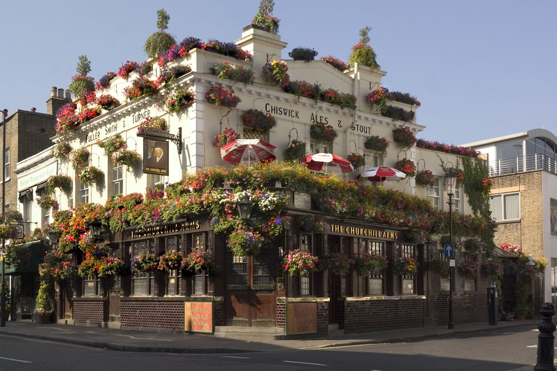 Notting Hill Pub Food