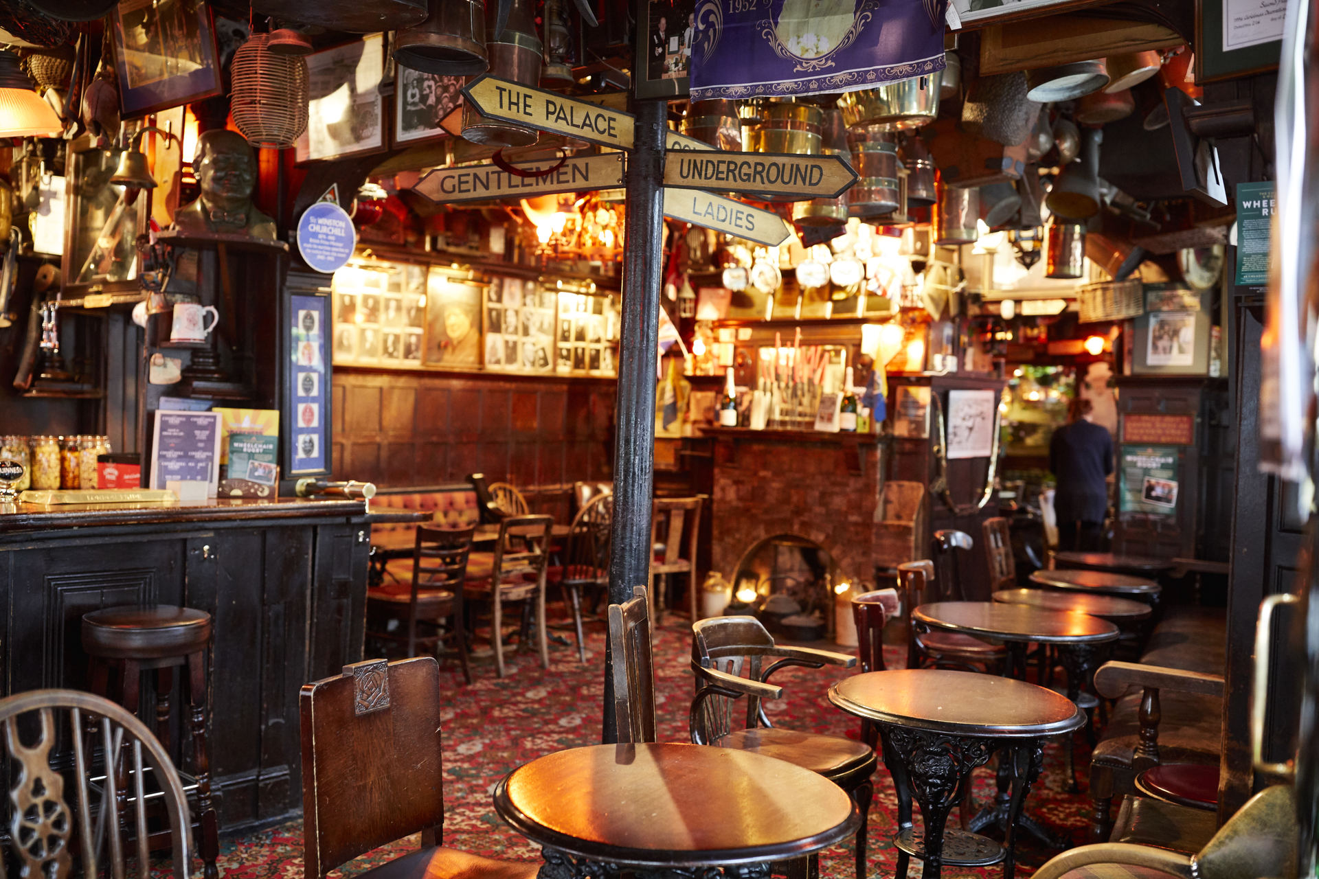 View the Gallery of The Churchill Arms in London